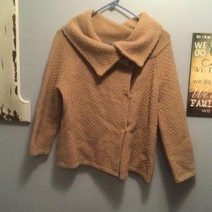 Banana Republic Sweater Shawl - Button Front